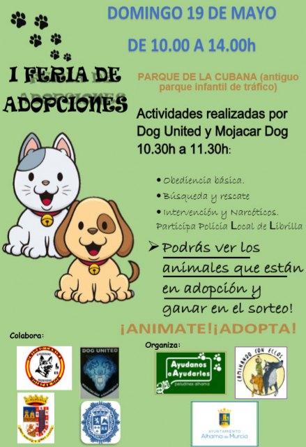 I Feria de Adopciones en Alhama de Murcia, Foto 1