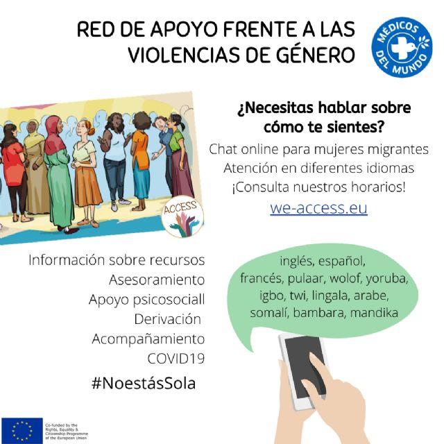 Red de Apoyo Frente a la Violencia de Género en Mujeres Migrantes - 1, Foto 1
