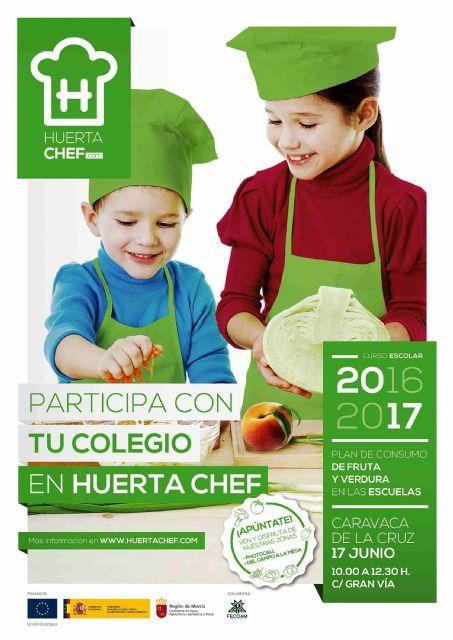 Caravaca acoge este sábado el concurso 'Huerta Chef' para promover recetas saludables entre los escolares, Foto 4