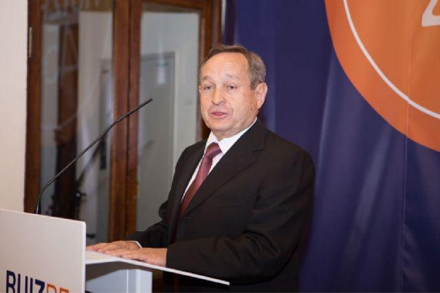 José Ruiz, Presidente de Ruiz Re, el Premio a la Dedicación de la Cámara de Comercio de Lorca y Puerto Lumbreras, Foto 1