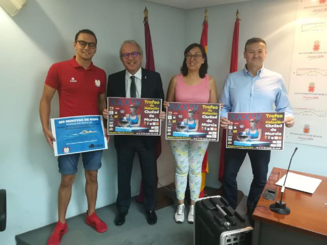 El Trofeo de Natación Ciudad de Murcia reunirá a 400 nadadores de 23 clubs - 1, Foto 1