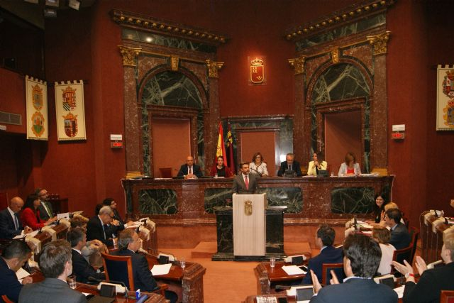 López Pagán: Estamos ante el fin de ciclo de un Gobierno inestable por la corrupción e incapaz de liderar la solución a los problemas de la ciudadanía de la Región - 1, Foto 1