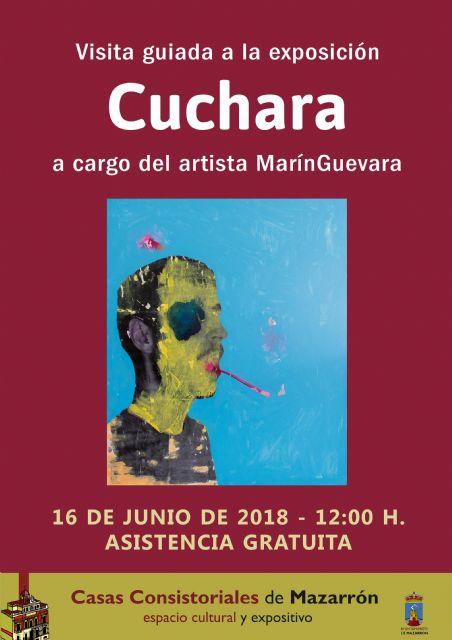 Marín Guevara ofrece una visita guiada a su exposición