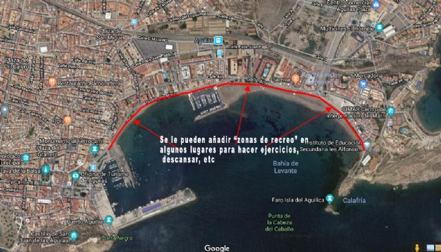 Ciudadanos recuerda al consistorio aguileño la cita pendiente con los carriles bici y pide concurso de ideas - 1, Foto 1