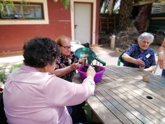 Los usuarios del centro de día de personas mayores visitan la Fundación Cavalli, Foto 2