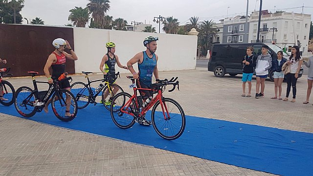 The Club Totana Triathlon was present at the Sertri in Cartagena and in the Valencia 113 - 2
