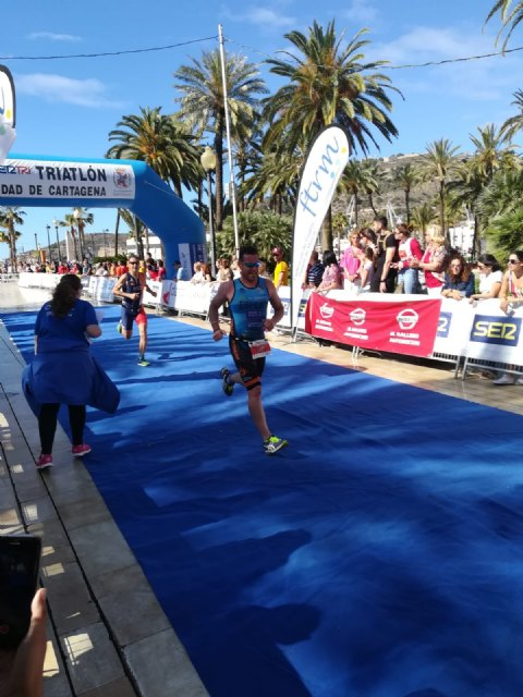 The Club Totana Triathlon was present at the Sertri in Cartagena and in the Valencia 113 - 4