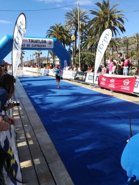 The Club Totana Triathlon was present at the Sertri in Cartagena and in the Valencia 113 - 5