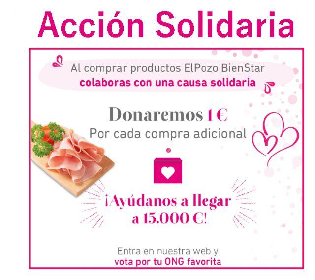 ELPOZO BIENSTAR donará hasta 15.000 euros a tres ONG por la compra de sus soluciones, Foto 1