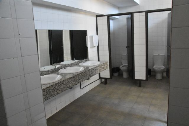 """Adequate public toilets Weekly Market, located in the municipal park """"Marcos Ortiz"""""""