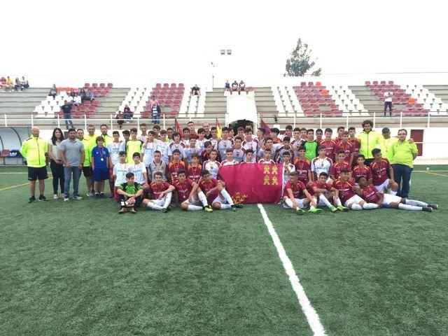 Puerto Lumbreras acoge la fase final de las selecciones comarcales en categoría infantil - 1, Foto 1