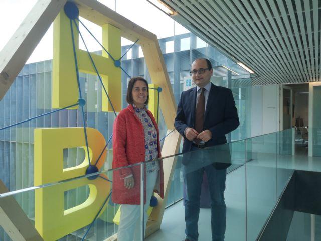 El director del Instituto de Fomento se reúne con la directora de la Agencia Gallega de Innovación en Santiago de Compostela, Foto 1