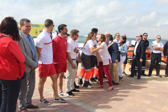 Las playas de San Pedro del Pinatar estarán vigiladas por 42 socorristas este verano - 1, Foto 1