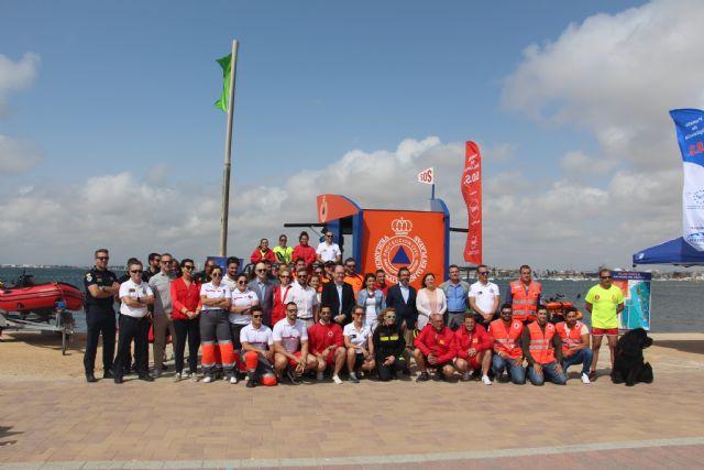 Las playas de San Pedro del Pinatar estarán vigiladas por 42 socorristas este verano - 3, Foto 3