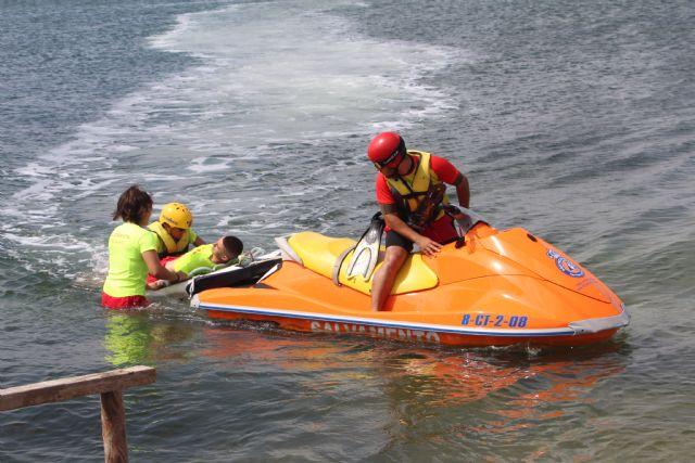 Las playas de San Pedro del Pinatar estarán vigiladas por 42 socorristas este verano - 4, Foto 4
