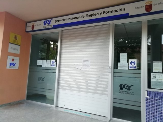 On Monday the SEF Office reopens in Totana, although exclusively by appointment for procedures that can only be resolved in person