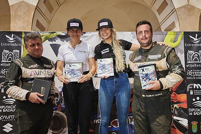 Christine Giampaoli gana la primera carrera del Campeonato de España en Extremadura con Avatel - 1, Foto 1