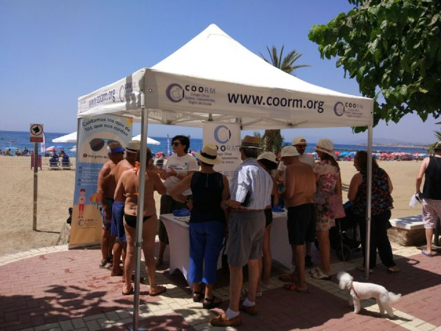 El COORM junto con la Cruz Roja en Mazarrón, Foto 1