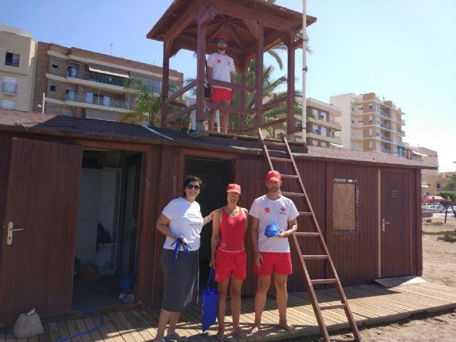 El COORM junto con la Cruz Roja en Mazarrón, Foto 2