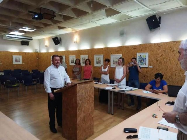 The mayor and the councilor of Tourism take possession like new vowels of the Board of Government of the Commonwealth Tourist of Sierra Espuña - 2