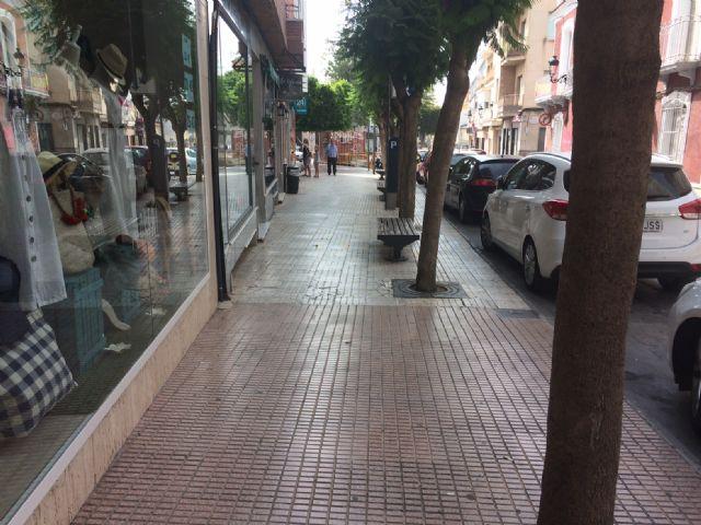 El próximo lunes 16 de julio comienzan las obras de acondicionamiento de las aceras en la calle Juan XXIII - 2, Foto 2