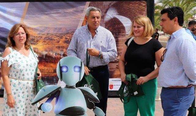 ´Un patrimonio de cine´ acerca la realidad virtual y las nuevas tecnologías a las playas de la Región - 2, Foto 2