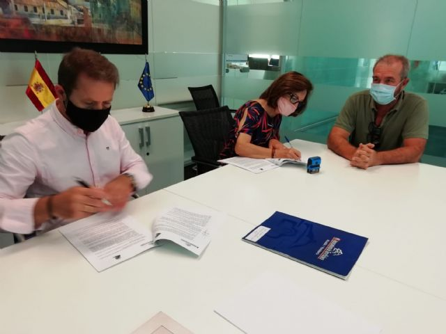 El Ayuntamiento y la Asociación PROMETEO renuevan convenio de colaboración - 1, Foto 1