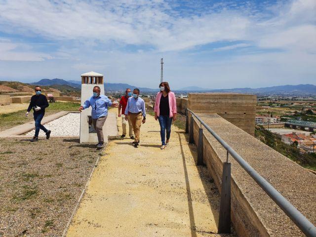 El Gobierno regional acometerá trabajos de emergencia en el Castillo de Nogalte para reparar los daños causados por la DANA de septiembre - 2, Foto 2