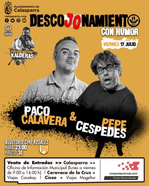 El Humor de Paco Calavera & Pepe Céspedes en Calasparra - 1, Foto 1