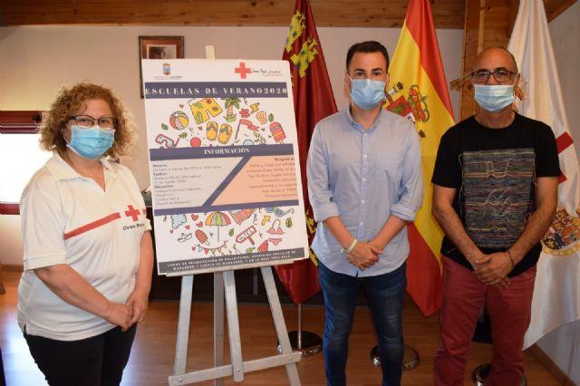 Ayuntamiento y Cruz Roja de Mazarrón trabajan de forma conjunta en la apertura de una Escuela de Verano, Foto 1