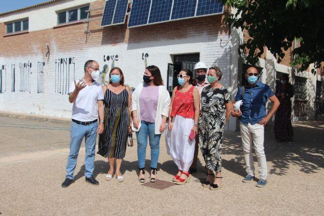 Educación comienza las obras para retirar el amianto del IES Manuel Tárraga Escribano de San Pedro del Pinatar - 1, Foto 1