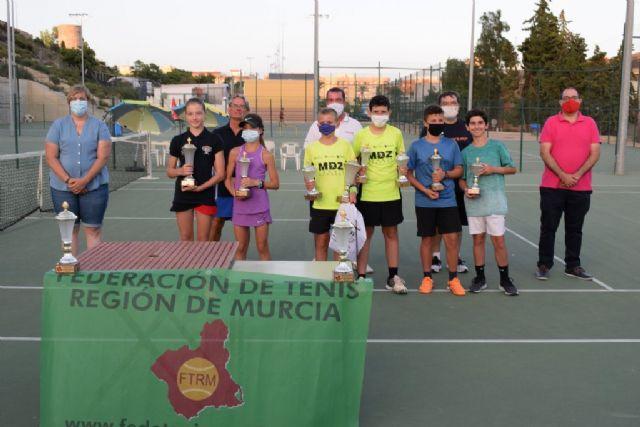 Sofia Minaeva del club de tenis Mazarrón se clasifica para la final nacional de este deporte en categoría alevín, Foto 1