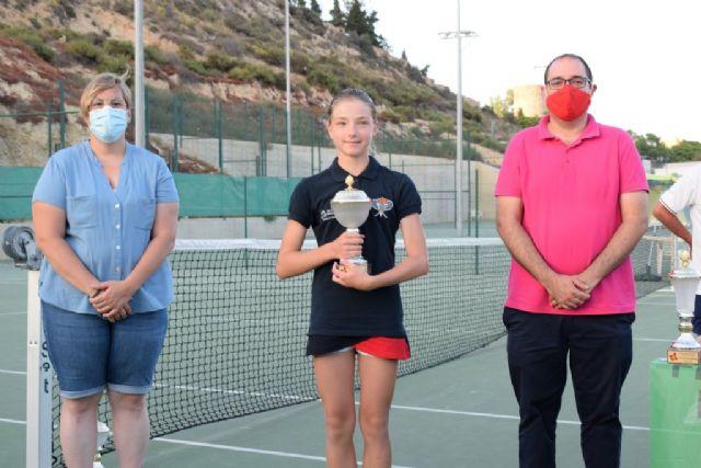 Sofia Minaeva del club de tenis Mazarrón se clasifica para la final nacional de este deporte en categoría alevín, Foto 2