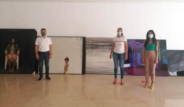 Los artistas plásticos carlos tárdez y vicente gómez, ganadores del concurso internacional de pintura villa de fuente álamo 2021 en su 49 edición - 1, Foto 1