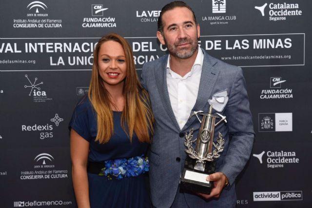 Alfredo Tejada Zurita, Lámpara Minera 2017 de La LVII edición del Festival Internacional del Cante de las Minas - 5, Foto 5