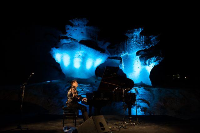 El concierto de piano junto a las Erosiones de Bolnuevo se consolida como uno de los grandes eventos de la oferta de verano en Mazarr�n, Foto 3