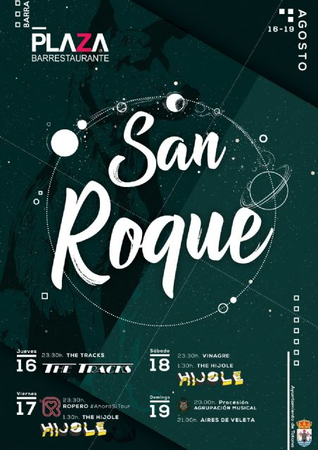 Las tradicionales fiestas del barrio de San Roque se celebran del 16 al 19 de agosto, Foto 1