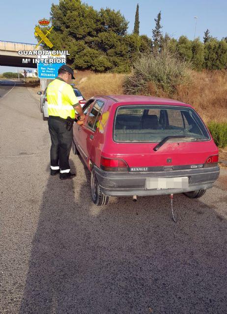 La Guardia Civil denuncia dos veces en una hora al mismo conductor por alcoholemia positiva, Foto 1