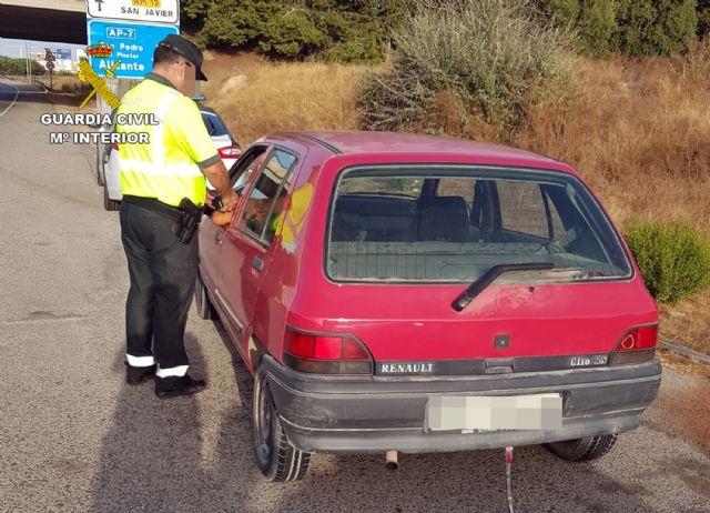 La Guardia Civil denuncia dos veces en una hora al mismo conductor por alcoholemia positiva, Foto 2