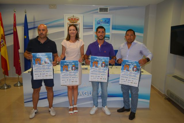 El Águilas F.C. y el Lorca Deportiva vuelven a disputarse el tradicional Sol y Playa, Foto 1