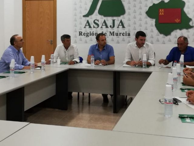 """ASAJA Murcia pide al Consejero Luengo defender """"con uñas y dientes"""" el Trasvase Tajo-Segura, Foto 1"""