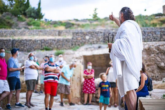 Cartagena Puerto de Culturas intensifica sus actividades con motivo de la festividad de la Virgen de Agosto - 1, Foto 1