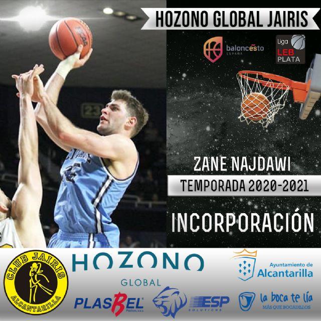 Zane Najdawi se incorpora a la disciplina del Hozono Global Jairis - 1, Foto 1