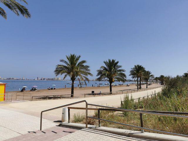 El Ayuntamiento activa wifi gratis en las playas de Los Urrutias, Los Nietos y Playa Honda - 1, Foto 1