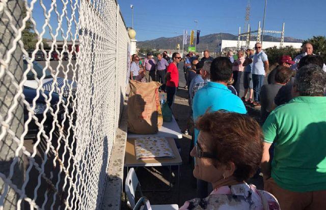 IU-Verdes Lorca se solidariza con los agricultores de COATO y lamenta la actitud antidemocrática de su presidente, Foto 1
