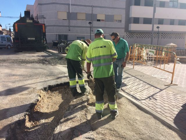 Completion of stormwater evacuation works on a section of Teniente Pérez Redondo Street - 1
