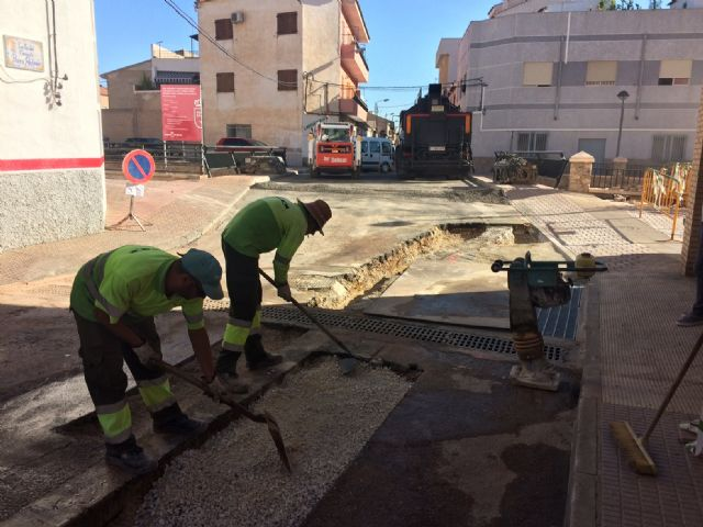 Completion of stormwater evacuation works on a section of Teniente Pérez Redondo Street - 3