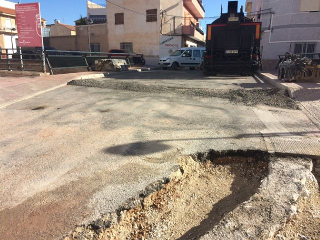Completion of stormwater evacuation works on a section of Teniente Pérez Redondo Street - 4