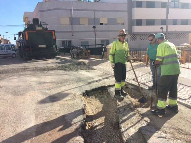 Completion of stormwater evacuation works on a section of Teniente Pérez Redondo Street - 6