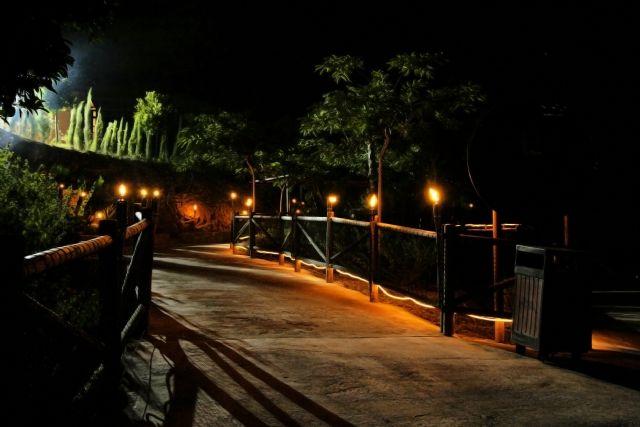 Terra Natura trae a Murcia por primera vez la noche de velas, Foto 1